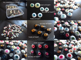 Handmade eyes - third attempt by vonBorowsky