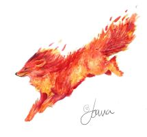Fire fox by Joava