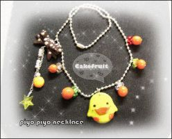 Piyo Piyo Necklace by CakeFruit