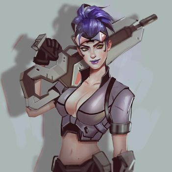 Talon Widowmaker by Mstrmagnolia