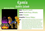 Hazel Crunch Eponia Application by Sterling-Needle