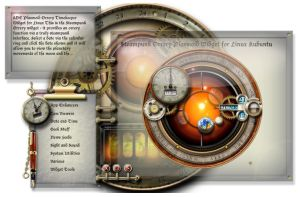 New Steampunk Widget Installation Widget by yereverluvinuncleber