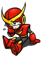 Sad lil chibi Quickman by Quickman012