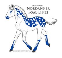 A4878 Nordanner Foal Design by TheMs0kitty