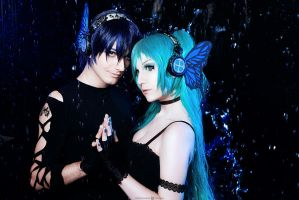 Vocaloid Miku  Magnet cosplay by TheWisperia