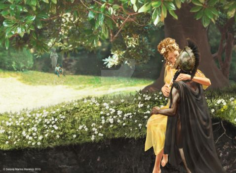 Hades and Persephone by Strige