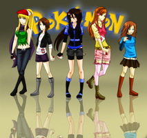 Pokemon Girls by GazeRei