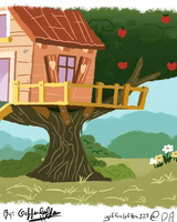 CMC'ers Tree House - CMC's Makeover by Geffenleffens
