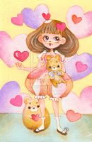 Vivid Heart Doll By Dragonfly World-d75ztsc by childrensillustrator