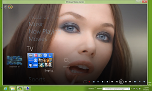 WMC metropolis 2.0 Theme in Windows 8 CP by octogonpc