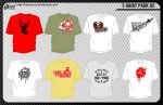 T-shirt Pack 02 by inumocca