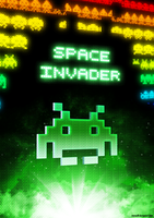 Poster - Space Invader by romus91