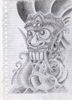 barong tattoo design by campfens