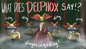 What Does Delphox Say!? by Gletters