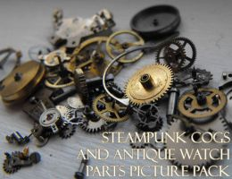 Watch parts picture pack by Eisoptrophobic-stock