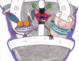 AAAHH REAL MONSTERS by LovinaYavari