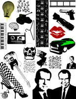 Random by Blank: Vector Pack 4 by Rickashay
