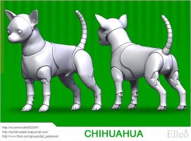 Chihuahua by leo3dmodels
