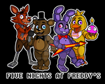 FNaF T-shirt by DrZombieFox