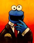 Business Cookie Monster by pregnantchaos