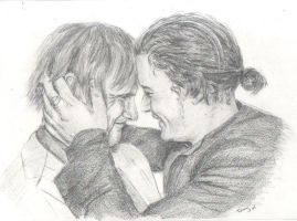 Orlando and Viggo by Powerfulwoodelf