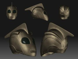 Rocketeer Helmet by Geo-Geo