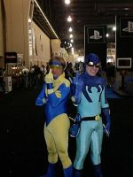Booster and Beetle WWP 2006 by NerdCraft