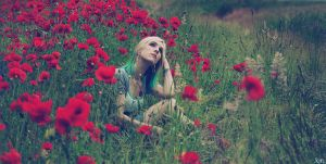 Poppies Will Make Her Sleep by SmokyPixel