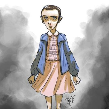 Stranger Things - Eleven by obscureBT