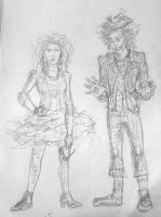 80's Alice and Tarrant by JesusIsMyHomie