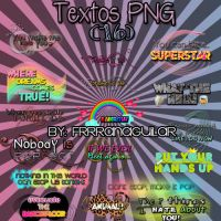 Textos PNG by FrrranAguilar