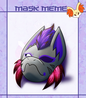 Tracy Mask Meme by coyotepack