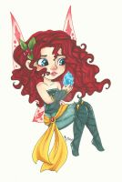 Chibi Disney Fairy Collection: Merida by chelleface90