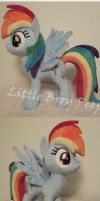 Rainbow Dash (Commission) by Little-Broy-Peep