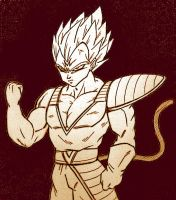 vegeta new style by Mr-PiaPia