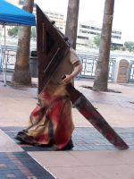 Metrocon 2007 - Pyramid Head by SleepyShippo