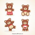 Cute Teddy Bears by drud-studio