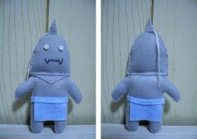 FMA Alphonse Elric Plush by PorcupineTreeHugger