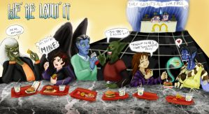 One Night at Mc Donald's Color by Lauretta-89