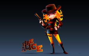 Fire Alice by GuGGGar
