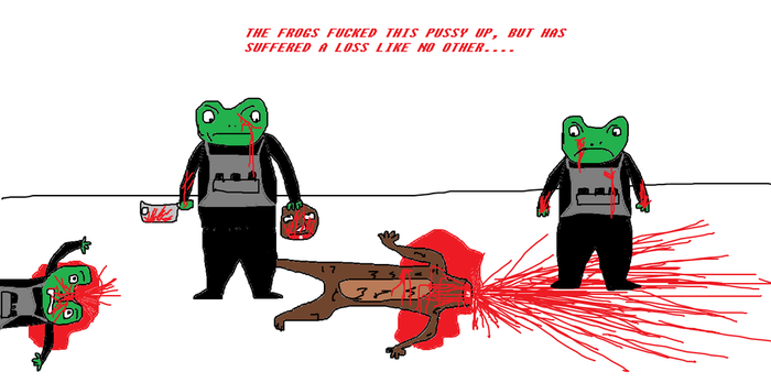 THE FROGS OF PAIN.....VICTORY!! by PotatoSkin97