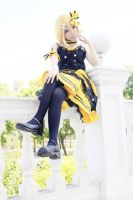 VOCALOID Kagamine Rin cosplay by ChengLC
