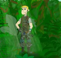 Ron Stoppable in mercenary style by Semi444