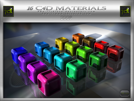 C4D Material Set 16 by JDLuxe