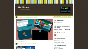 My WebSite in New Style by TheDhruv