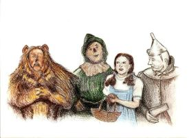 Wizard of Oz by stacybeck