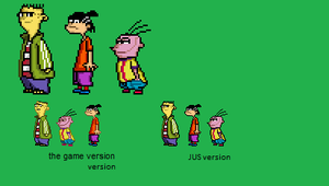 Ed Edd n Eddy JUS sprite by zacharyleebrown