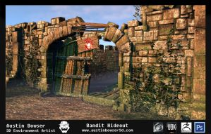 Bowser A environment 3 by bowser3d