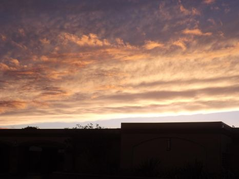 Sunset clouds 2 by Anastasia211