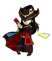 Chibi Twisted Fate by uyuni